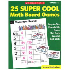 25 SUPER COOL MATH BOARD GAMES