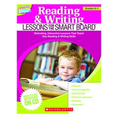 READING & WRITING LESSONS GR K-1 FOR THE SMART BOARD