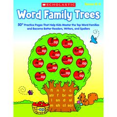 SCHOLASTIC TEACHING RESOURCES WORD FAMILY TREES
