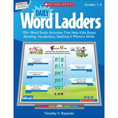 SCHOLASTIC TEACHING RESOURCES DAILY WORD LADDERS GR 1-2 INTERACTIVE WHITEBOARD ACTIVITIES