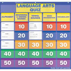 LANGUAGE ARTS CLASS QUIZ K-1 POCKET CHART ADD ONS