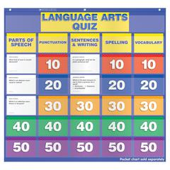 LANGUAGE ARTS CLASS QUIZ 5-6 POCKET CHART ADD ONS