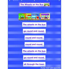 SCHOLASTIC TEACHING RESOURCES FAVORITE KIDS SONGS POCKET CHART ADD ONS