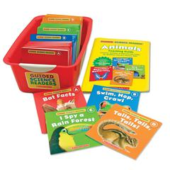 SCHOLASTIC TEACHING RESOURCES GUIDED SCIENCE READERS SUPER SET ANIMALS