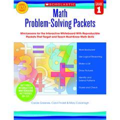 MATH PROBLEM SOLVING PACKETS GR 1