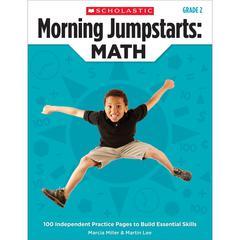 SCHOLASTIC TEACHING RESOURCES MORNING JUMPSTARTS MATH GR 2