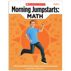 SCHOLASTIC TEACHING RESOURCES MORNING JUMPSTARTS MATH GR 6