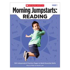 SCHOLASTIC TEACHING RESOURCES MORNING JUMPSTARTS READING GR 1