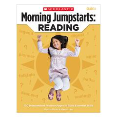 SCHOLASTIC TEACHING RESOURCES MORNING JUMPSTARTS READING GR 4