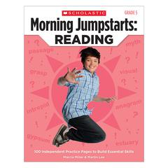 SCHOLASTIC TEACHING RESOURCES MORNING JUMPSTARTS READING GR 5