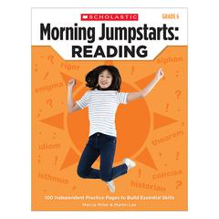 SCHOLASTIC TEACHING RESOURCES MORNING JUMPSTARTS READING GR 6
