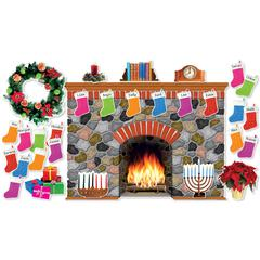 SCHOLASTIC TEACHING RESOURCES HOLIDAY HEARTH BB SET