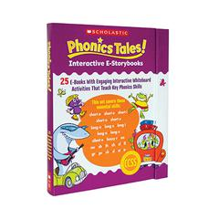 SCHOLASTIC TEACHING RESOURCES PHONICS TALES INTERACTIVE E STORYBOOKS