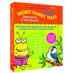 SCHOLASTIC TEACHING RESOURCES WORD FAMILY TALES INTERACTIVE E-STORYBOOKS