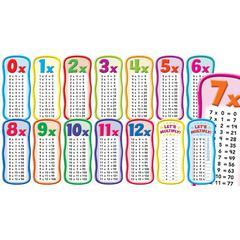 SCHOLASTIC TEACHING RESOURCES MULTIPLICATION TABLES BBS