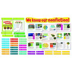 SCHOLASTIC TEACHING RESOURCES EXPLORING NONFICTION BULLETIN BOARD