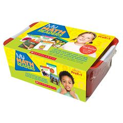 SCHOLASTIC TEACHING RESOURCES MY MATH READERS CLASSROOM TUB