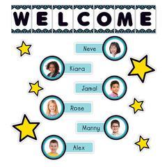 Aqua Oasis Welcome Bulletin Board