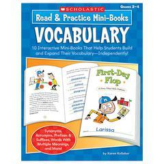READ & PRACTICE MINI-BOOKS VOCABULARY