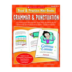 SCHOLASTIC TEACHING RESOURCES READ & PRACTICE MINI-BOOKS GRAMMAR & PUNCTUATION