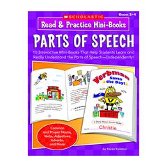 READ & PRACTICE MINI-BOOKS PARTS OF SPEECH
