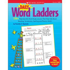 DAILY WORD LADDERS GRS 1-2