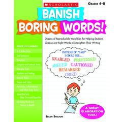 BANISH BORING WORDS GR 4-8
