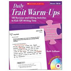 SCHOLASTIC TEACHING RESOURCES DAILY TRAIT WARM-UPS
