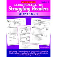 EXTRA PRACTICE FOR STRUGGLING READERS WORD STUDY