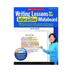 SCHOLASTIC TEACHING RESOURCES WRITING LESSONS FOR THE INTERACTIVE WHITEBOARD