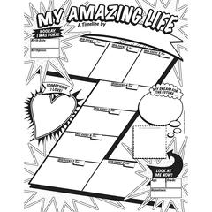 SCHOLASTIC TEACHING RESOURCES MY TIMELINE GR 3-6 GRAPHIC ORGANIZER POSTERS