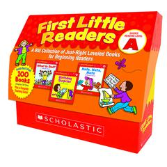 SCHOLASTIC TEACHING RESOURCES FIRST LITTLE READERS GUIDED READING LEVEL A
