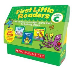 SCHOLASTIC TEACHING RESOURCES FIRST LITTLE READERS GUIDED READING LEVEL C