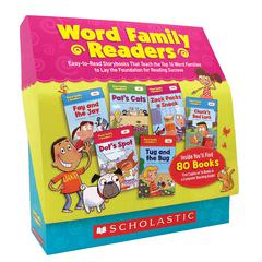 SCHOLASTIC TEACHING RESOURCES WORD FAMILY READERS SET