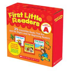 SCHOLASTIC TEACHING RESOURCES FIRST LITTLE READERS PARENT PACK GUIDED READING LEVEL A