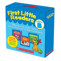 SCHOLASTIC TEACHING RESOURCES FIRST LITTLE READERS PARENT PACK GUIDED READING LEVEL B