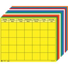CREATIVE SHAPES ETC HORIZONTAL CALENDAR SET 28 X 22