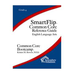 SIMPLY NOVEL SMARTFLIP GR 4 COMMON CORE REF GUIDE FOR ELA COMMON CORE BOOTCAMP