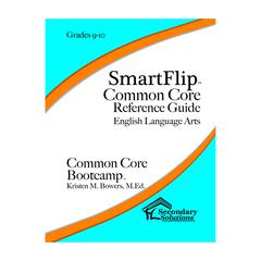SIMPLY NOVEL SMARTFLIP GR 9-10 COMMON CORE REF GUIDE FOR ELA COMMON CORE BOOTCAMP