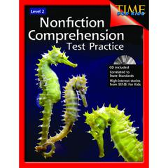 SHELL EDUCATION NONFICTION COMPREHENSION TEST PRACTICE GR 2