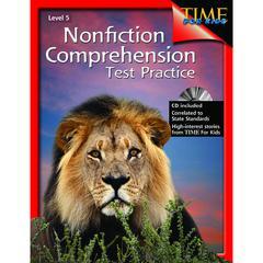 NONFICTION COMPREHENSION TEST PRACTICE GR 5