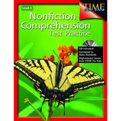 SHELL EDUCATION NONFICTION COMPREHENSION TEST PRACTICE GR 6