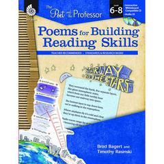 SHELL EDUCATION POEMS FOR BUILDING READING SKILLS GR 6-8