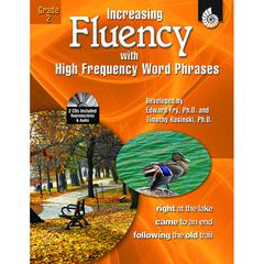 SHELL EDUCATION INCREASING FLUENCY W HIGH FREQUENCY WORD PHRASES GR 2