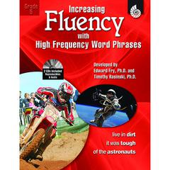 SHELL EDUCATION INCREASING FLUENCY W HIGH FREQUENCY WORD PHRASES GR 5