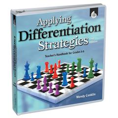 SHELL EDUCATION APPLYING DIFFERENTIATION STRATEGIES GR 3-5 TEACHERS HANDBOOK