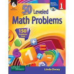 50 LEVELED MATH PROBLEMS LEVEL 1 W/ CD