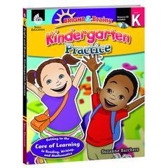 SHELL EDUCATION GRADE LEVEL PRACTICE BOOK & CD GR K