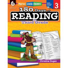 180 DAYS OF READING BOOK FOR THIRD GRADE
