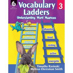 SHELL EDUCATION VOCABULARY LADDERS GR 3